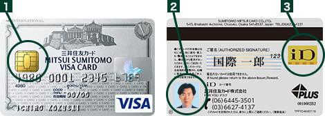 三井住友VISAカードの顔写真